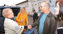 Prosto ze Stanów Zjednoczonych, Doktor Paley już w Skierniewicach - zdjęcia