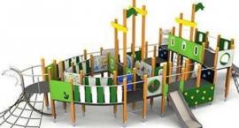Nowy plac zabaw - popłyniemy